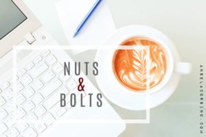 Nuts & Bolts of Writing