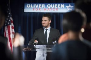 Oliver Queen for Mayor