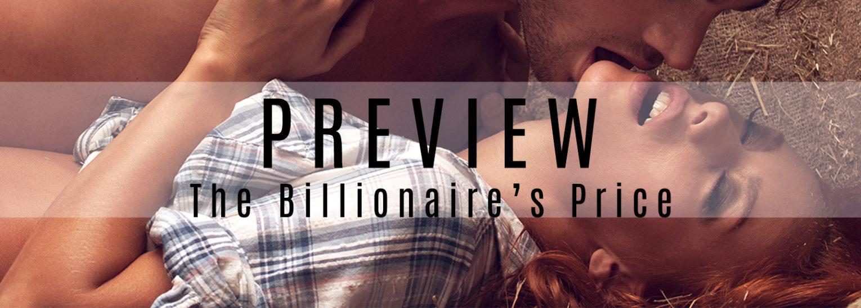 """The Billionaire's Price"" PREVIEW"