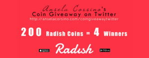 Radish Coin Giveaway on Twitter