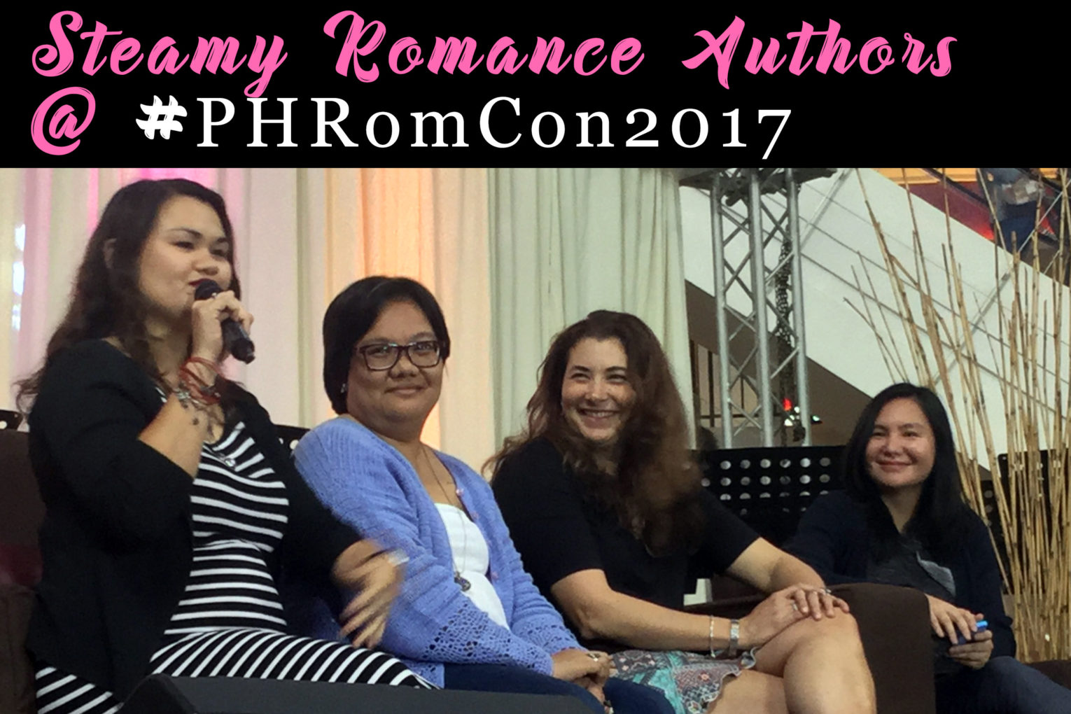 #PHRomCon2017: Steamy Romance Authors Panel with Mina V. Esguerra and Jennifer Hallock