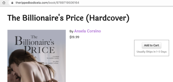 The Billionaire's Price on The Ripped Bodice