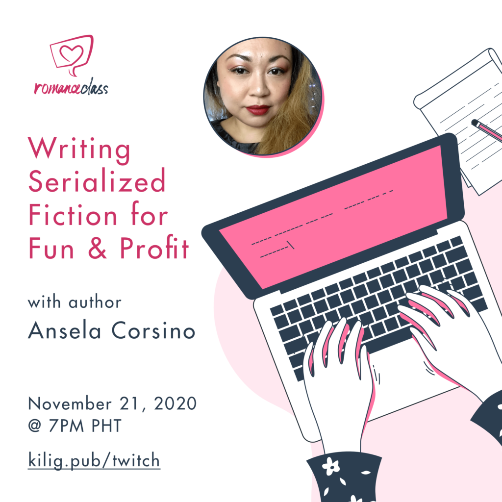 Writing Serialized Fiction for Fun & Profit with author Ansela Corsino